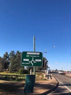 Selina travels to Gunnedah NSW