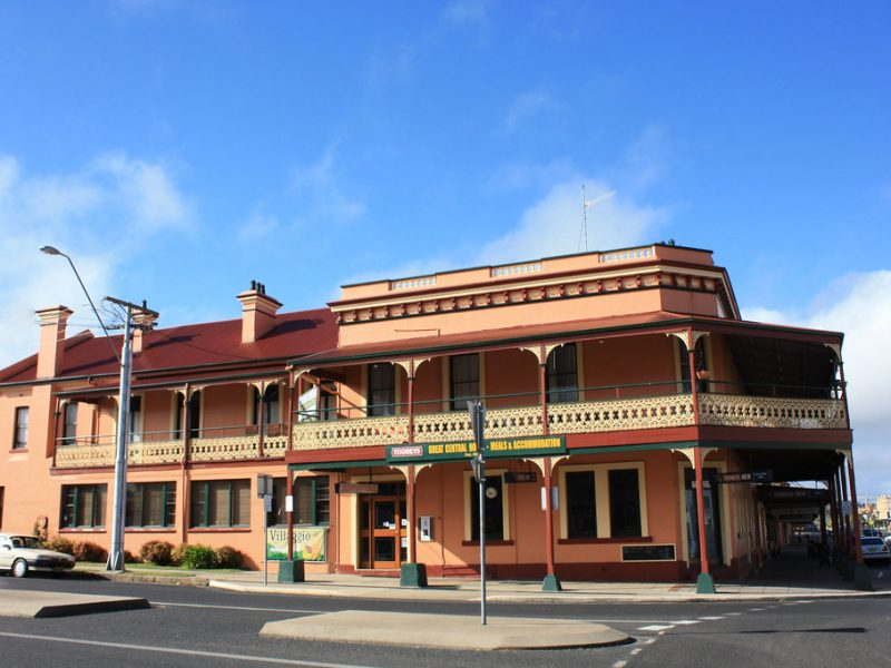 Glen Innes Great Central hotel